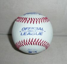 Rawlings Crolb Official League Baseballs.Leather Cover Solid cork rubber center