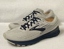 Brooks Adrenaline GTS 19 Athletic Running Shoes  Men 12  Gray/ Blue