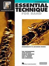 Essential Technique for Band Intermediate-Advanced Studies Bb Clarinet 000862620