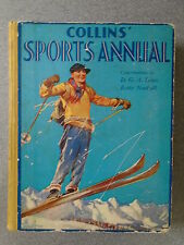 COLLINS SPORTS ANNUAL by D G A LOWE & BETTY NUTHALL - H/B - UK POST £3.25