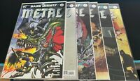 DARK KNIGHTS METAL LOT OF 36 INC MAIN TIE INS AND TEEN TITANS 12 CONV EXCLUSIVE