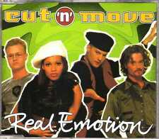 Cut 'N' Move - Real Emotion - CDM - 1995 - Eurohouse 6TR Denmark