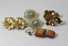 Collection Vintage Earrings, Buttons & Ring Sarah Cov + - 757