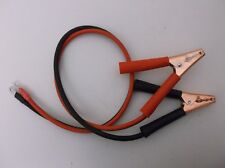"""10 AWG 36"""" Red & Black Color Code Power Inverter Cable with Clamp & 1/4"""" lug end"""