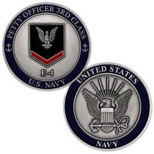 NEW U.S. Navy Petty Officer Third Class E-4 Challenge Coin.