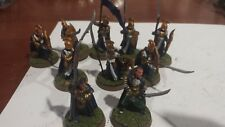 Games Workshop Lord of The Rings Last Alliance Elves Elrond and Gilgalad