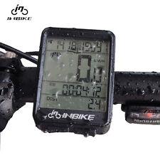 Waterproof Bicycle Wireless Digital Computer Bike  Speedometer Lcd Cycle Digital