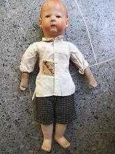 seltene Käthe Kruse - Puppe mit orig. Etikett- ab 1929 -wohl Typ VII
