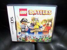 LEGO Battles  (Nintendo DS, 2009) EUC