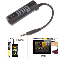 1Pc Guitar Interface I-Rig Converter Replacement Guitar for PhoneATAUBDAU