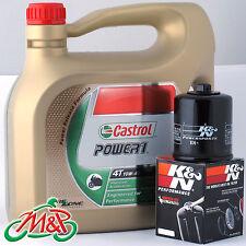 Suzuki GW250 Inazuma 2014 Castrol K&N Oil Filter Kit
