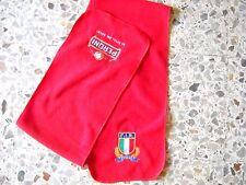 d11 sciarpa rugby ITALIA F.I.R. nazionale federation scarf bufanda echarpe