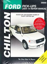 2004-2014 Ford F150 Pick-Ups 2WD & 4WD Chilton's Repair Service Shop Manual 1251