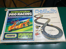 Tyco Pro Electric Racing System -Ho scale International Pro Racing Set with box