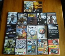 LOTE DE 19 JUEGOS DE PC,ORDENADOR.EN BUEN ESTADO. OPORTUNIDAD.SEGA,CALL OF DUTY.