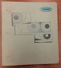 Tennant Floor Scrubber Parts Maintenance Service Manual- Models 1465/80/90