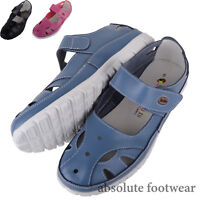 Ladies /Womens Leather Causual /Summer / Holiday EEE Wide Fitting Shoes / Sandal