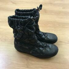 The North Face Thermoball Black Apres Ski Warm Boots Size 7 Waterproof