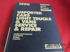 1990 Mitchell Manuals Imported Cars Light Trucks & Vans Acura To Hyundai