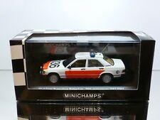 MINICHAMPS 34190 MERCEDES BENZ 190E - 1988 DUTCH POLICE - 1:43 RARE - EXCELLENT