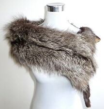 Fuchs pelzstole estola Stole Pelz Silver Fox fur collar zorro plateado guardián
