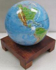 "Square Wood Base for 4.5"" Mova Globe, New, Free Ship"