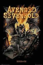 """Avenged Sevenfold POSTER """"Shepherd of Fire"""""""