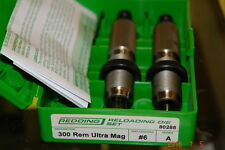 REDDING 300 REMINGTON ULTRA MAG RELOADING FULL LENGTH DIE SET #80288