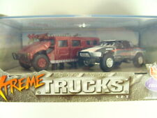 Hot Wheels Xtreme Trucks Box Set Hummer Toyota Baja Racer Combine Shipping