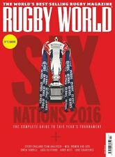 RUGBY WORLD MAGAZINE SIX NATIONS 2016 (WALES) BRAND NEW BACK ISSUE