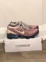 NIB Nike Women Air Vapormax Flyknit 3 Desert Sand AJ6910-007 sz 8 free shipping
