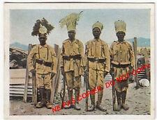 COLONIE AFRIQUE AFRICA GERMANY SOLDIERS WAR WWI WELTKRIEG 1918 CHROMO ANNEE 30s