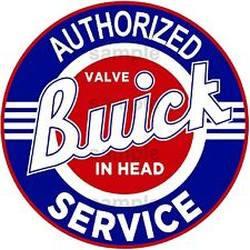 3 INCH BUICK SERVICE DECAL STICKER SEVERAL SIZES AVAILABLE