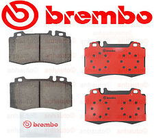 For Mercedes C215 W163 W220 Front Brake Pads Slotted Ceramic with Sensors Brembo
