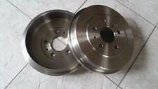FORD FOCUS MK 2  05-10 TWO REAR BRAKE DRUMS  LH AND RH ALL DIESEL MODELS LH & RH