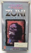 "Zuni Warrior Trilogy of Terror Doll - Majestic Studio 2004 -13"" tall Figure SDCC"