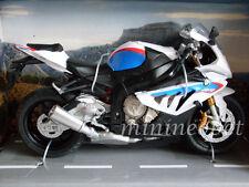 AUTOMAXX 606202 2014 BMW S1000 RR BIKE MOTORCYCLE 1/12 WHITE