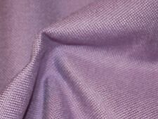 QUALITY UPHOLSTERY FABRIC IN A THICK LINEN STYLE  WEAVE IN DARK LILAC, LOVELY.
