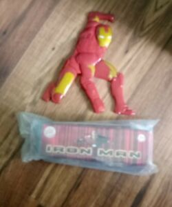 IRONMAN 3D 6 INCH PUZZLE | NEW IN BOX | 2007 BURGER KING MEAL TOY | TONY STARK