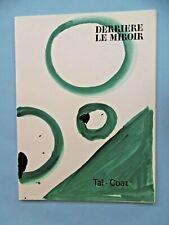TAL COAT Derrière le Miroir n° 153 DLM 1965 Tirage original 7 Lithographies lith