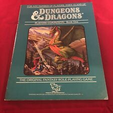 Dungeons & Dragons PLAYERS COMPANION Book One 1984 1st print