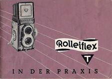 Rollei Bedienungsanleitung für Rolleiflex T - Anleitung