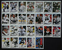 1990-91 Upper Deck UD Los Angeles Kings Team Set of 26 Hockey Cards