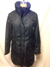 Jessica Simpson Soft Shell Parka Coat XL Black MISSING HOOD New With Tags