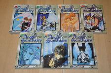 lot 7 mangas Angel Sanctuary tomes 1 2 3 4 5 6 8 - Kaori Yuki