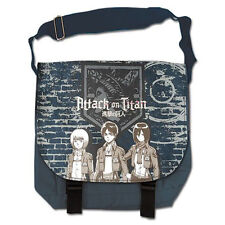 Attack On Titan Group And Wall Messenger Bag NEW Toys Anime Carrier