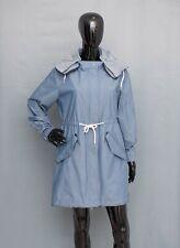 MAISON SCOTCH & SODA Lightweight Parka Hooded Oversized Jacket Trench Coat UK10