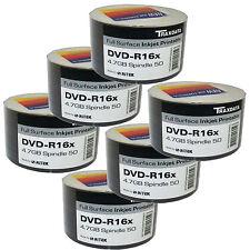 300 Pack Traxdata DVD-R 16 x VITESSE face complète imprimable par jet d'encre