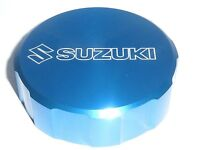 Suzuki TL1000R 1998-03 Cilindro Maestro Freno Delantero Tapón de Rosca Tapa Azul
