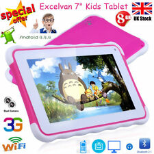 "7"" Kids Childs 8GB Tablet PC Camera WIFI External 3G Android Xmas Education Gift"